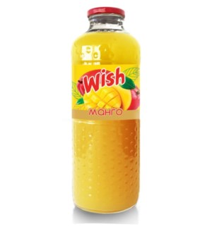 BPC Wish Mango Nectar (glass) 8/1 lt