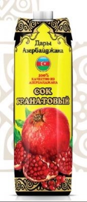 BPC Pomegranate Juice (Tetra) 12/1 lt