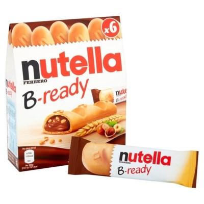 Nutella B-ready 8/132 gr (T6)