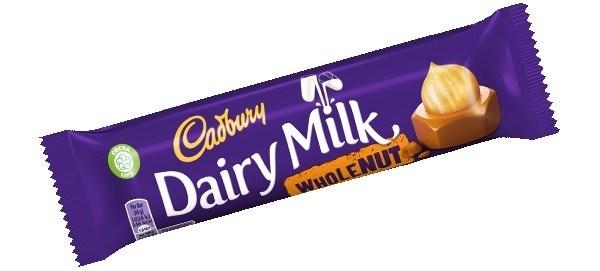 Dairy Milk Nuts 48/48 gr