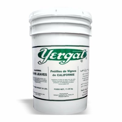Yergat Grape Leaves Pail 5 gal