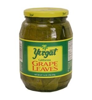 Yergat Grape Leaves (jar) 12/16 oz