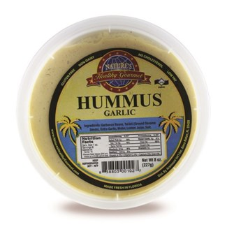 Garlic Hummus 8 oz