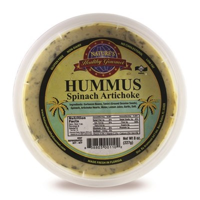 Spinach & Art. Hummus 8 oz