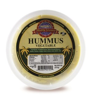 Vegetable Hummus 8 oz