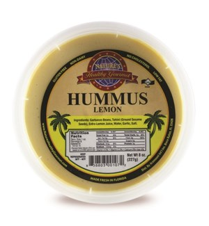 Lemon Hummus 8 oz