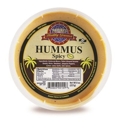 Spicy Hummus 8 oz