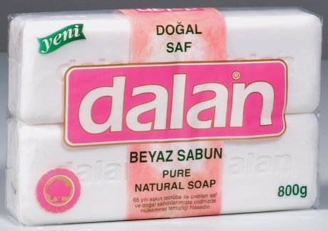 Dalan Bath Soap White 10/4 pk