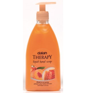 Dalan Peach & Honey Soap 24/13.5 fl oz