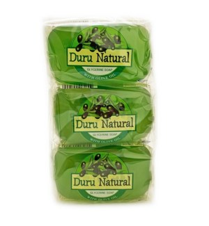 Duru Natural Bar Soap w/Olive Oil 100grx6x12
