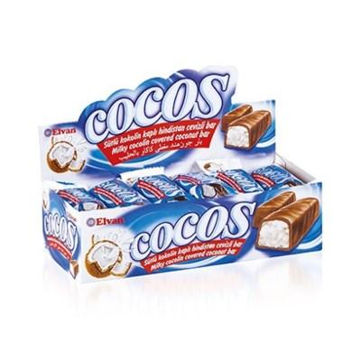 Elvan Cocos Coconut Bar 16 gr (24x12)