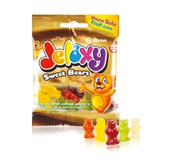 Elvan Jelaxy Sweet Bears 80 gr (12x6)