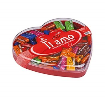 Elvan Ti Amo Milky Chocolate 12/450 gr