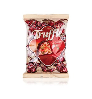 Elvan Truffle Chocoate w/Strawberry BAGS ===10/500 gr===
