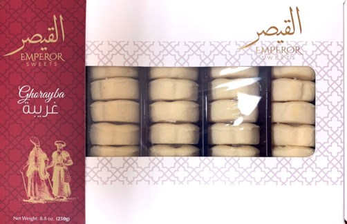 Emperor Ghorayba Butter Cookie 12/250 gr