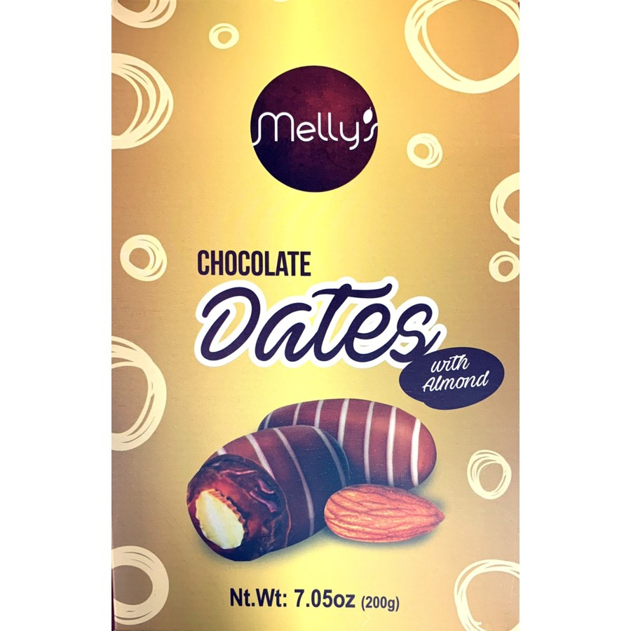 Emperor Mely's Chocolate Date Pouch 18/200 gr