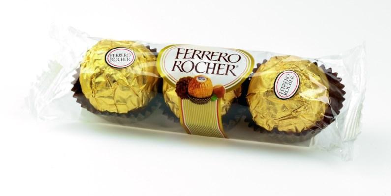 Ferrero Roche Chocolate 12x12/1.3 oz