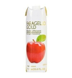 Faragello Apple Juice Tetra 12/1 lt