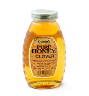 Gunter's Honey Clover 12/1 lb