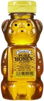 Gunter's Honey Bear 12/12 oz