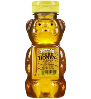 Gunter's Honey Bear 12/12 oz