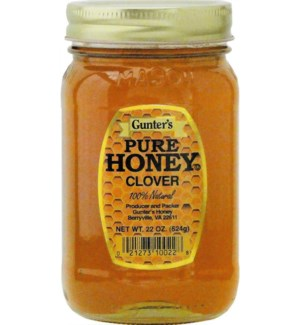 Gunter's Honey Clover 12/22 oz