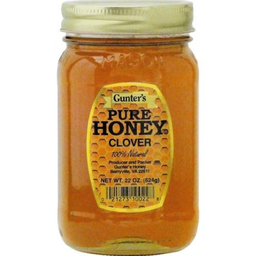 Gunter's Honey Clover 12/22 oz