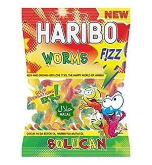 Haribo Fizz Worms 24/70 gr