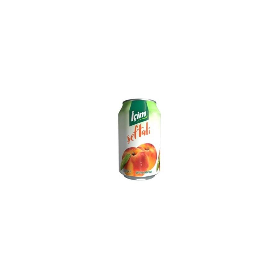 Icim Peach Juice (can) 12/330 ml