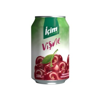 Icim Sour Cherry Juice (can) 12/330 ml