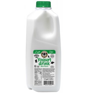 Karoun Yogurt Drink MINT 6/HALF GAL