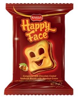 Karsa Happy Face Biscuit 24/==25 gr==