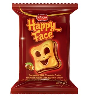 Karsa Happy Face Biscuit 24/==25 gr==