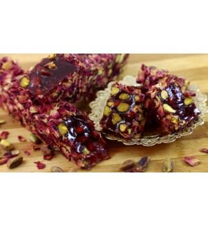 Hayat Loqum Pistachio & Pomegranate w/Rose Petals 11 lb