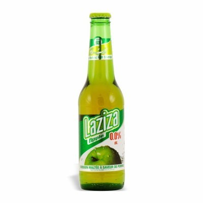 Laziza S.Apple Beer (non-alcoholic)  24/11.1 oz
