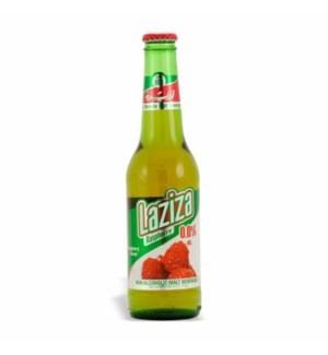 Laziza Rasb. Beer (non-alcoholic) 24/11.1 oz
