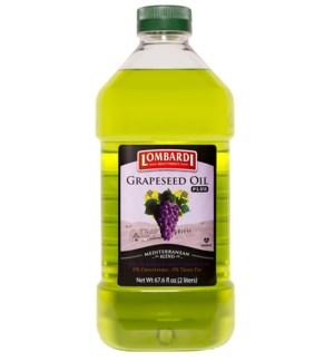 Lombardi Grape Seed Oil Plus 6/67.6 oz