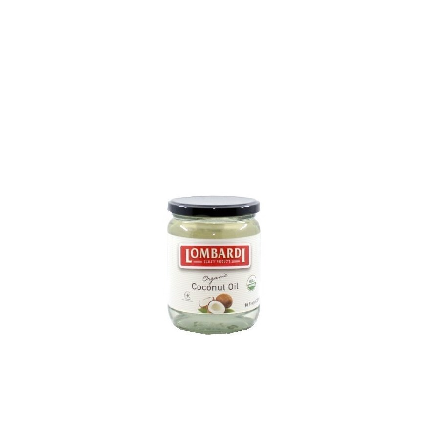 Lombardi Organic Coconut Oil 12/16 oz