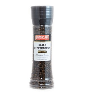 Lombardi Black Peppercorns 6/320 gr