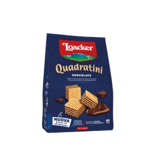 Loacker Quadratini Chocoate 8/250 gr