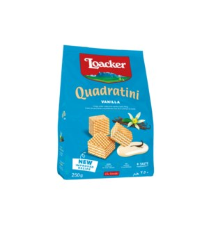 Loacker Quadratini Vanilla 6/250 gr