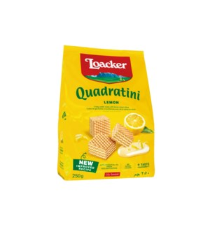 Loacker Quadratini Lemon 8/250 gr