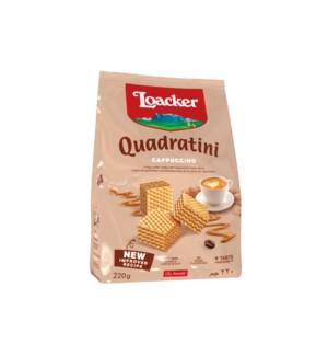 Loacker Quadratini Cappuccino 6/250 gr