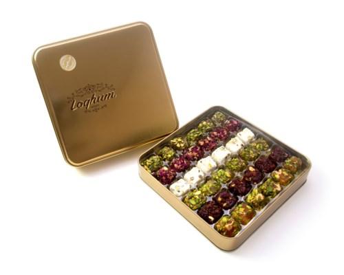 Loqhum Turkish Delight ***454 gr*** (tin) 10pk