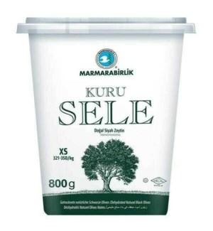 MB Dried Sele Olives (Kuru Sele) 2XS 6/800 gr