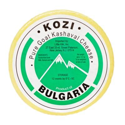 Kozi Goat Kashkaval Cheese (per lb)