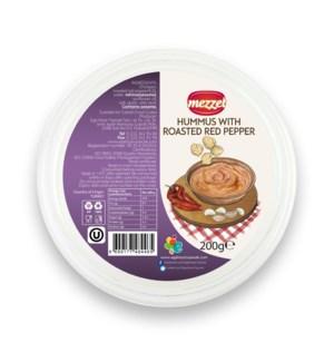 Mezzet Rst. Pepper Hummus 24/200 gr