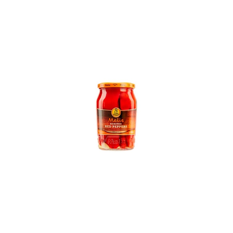Melis Roasted Red Peppers 12/720 ml
