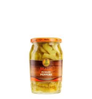 Melis Pickles Peppers 12/720 ml
