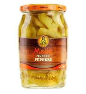 Melis Banana Pepper Rings 12/720 ml
